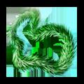 Green lametta