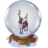 Reindeer in a snow globe