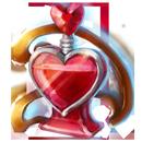 Heart perfume