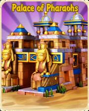 Palace of pharaohs update logo