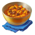 Pumpkin with chestnuts