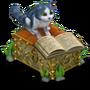 Bookworm deco
