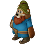 Grumpy the Dwarf deco