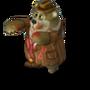Zombie bear deco