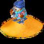 Desert skier deco