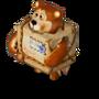Bear parcel deco