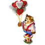 Romantic bear deco