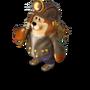 Bear dwarf deco
