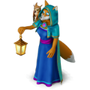Fox-sorceress deco