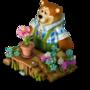 Bear florist deco