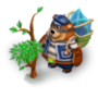 Bear thief deco
