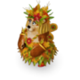 Bear autumn deco