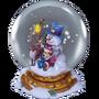 Snow globe deco