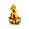 Symbol of wealth deco