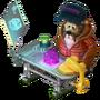 Bear Engineer deco