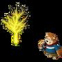 Bear and Lightning tree deco