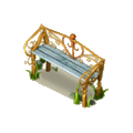 Classical bench deco