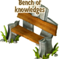 Bench of knowledges deco