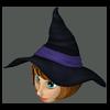 Headf witch hat