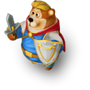 Valiant knight deco