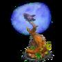 Raven's tree deco
