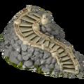 Forgotten kingdom ladder to castle stage1