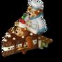 Elegant cake deco