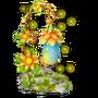 Lantern flower deco