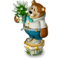 Bear with snowdrops deco.png