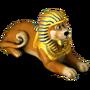 Sphinx bear deco