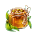 Barrel of eucalyptus jam.png