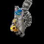 Lemur saxophonist deco