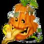 Pumpkin (Frankenstein deco)