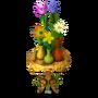 Spring flowers deco