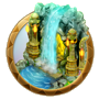 Dream icon tropical forest