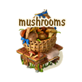 Basket with mushrooms deco.png