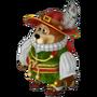 Pompous bear deco