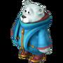 White bear deco