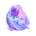 Coll ice frozen flower