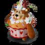 Bear cupcake deco