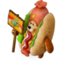 Hot-dog bear deco
