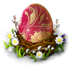 Easter egg structure