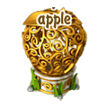 Fairytale apple deco