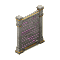 Wall mysticcastle deco