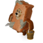 Bear brick deco