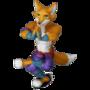 Fox monk deco