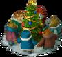 Christmas singing deco