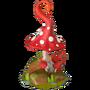 Fairytale mushroom deco