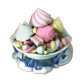 Marshmallow mix deco