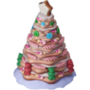 Gingerbread tree deco